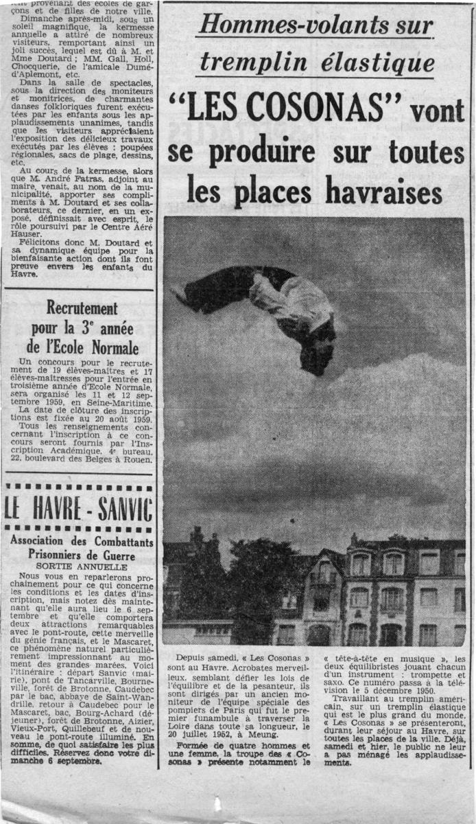 Tournée-1959-Le-Havre-1-Presse-GC