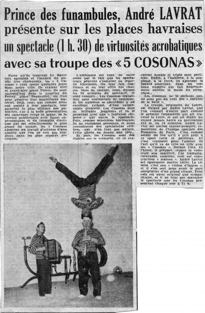 Tournée-1959-Le-Havre-2-Presse-GC